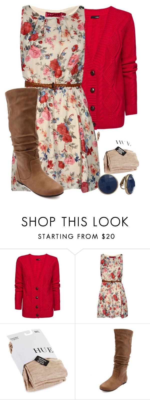 """""""Teacher Outfits on a Teacher's Budget 149"""" by allij28 ❤ liked on Polyvore featuring MANGO, Boohoo, Hue, Charlotte Russe and Dana Buchman"""