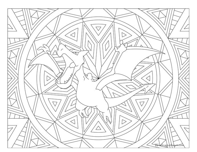 noivern coloring pages - photo#19