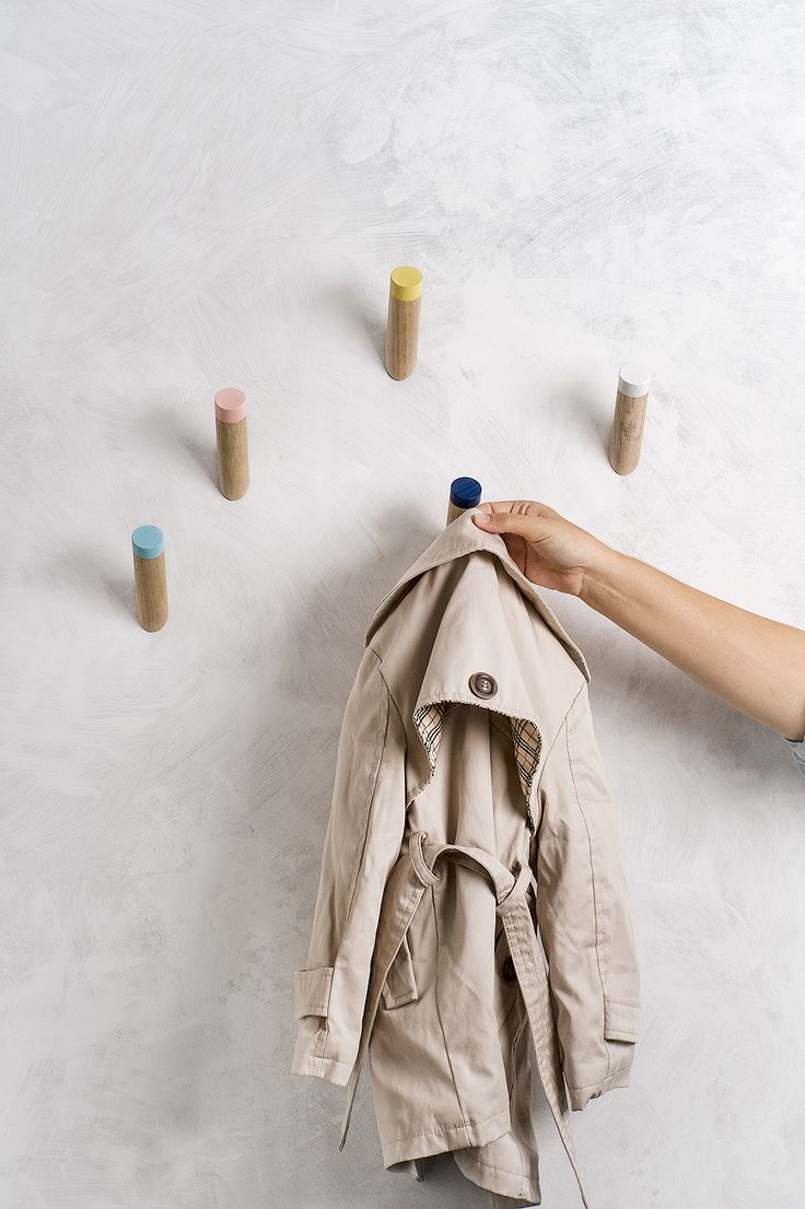Wall Hooks - set of five from loopdesignstudio