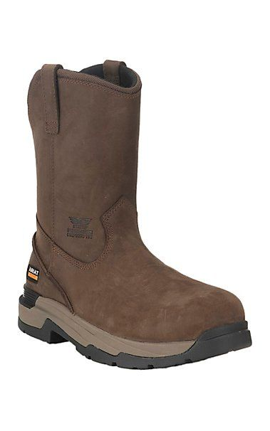 Ariat Work Men's Brown Astergrip Round Toe Composite Toe Work Boots | Cavender's