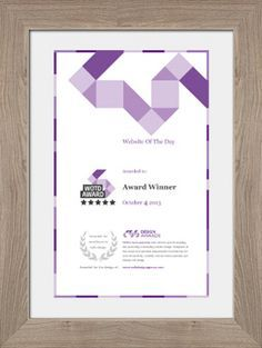creative award certificate design - Google Search
