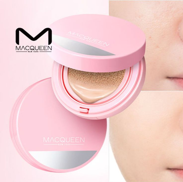 Macqueen Mineral CC Cushion Cover Holic Moist SPF50+PA+++ Plus 1 Refill Included #Macqueen