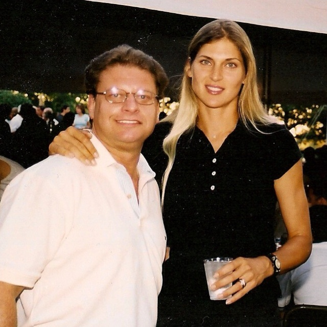 Professional volleyball player Gabrielle Reece. She is married to pro surfer Laird Hamilton.