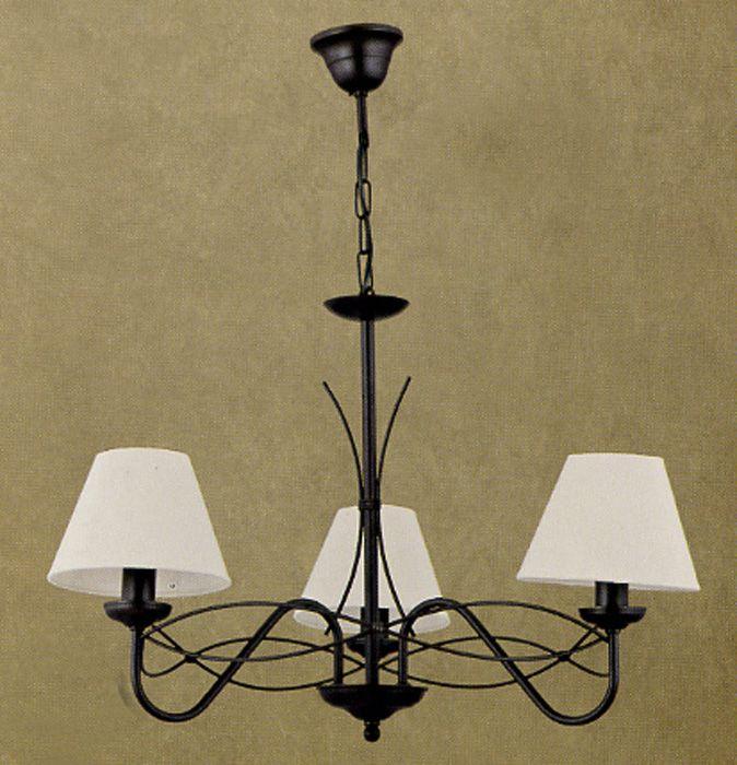 Lustre Fer Forgé (Lustre Fer Forgé): Cette originale lustre fer forge est fabriqué en Espagne par des maîtres-artisans. Tous les processus de fabrication, il est fabriqué à la ...