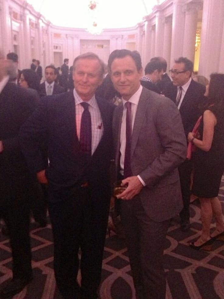 """@TheDivide_WEtv: .@tonygoldwyn with author, John Grisham at the @Innocence ogirl dinner. #TheDivide @Dennis Jarmin pic.twitter.com/a9FWJAcKuf"""