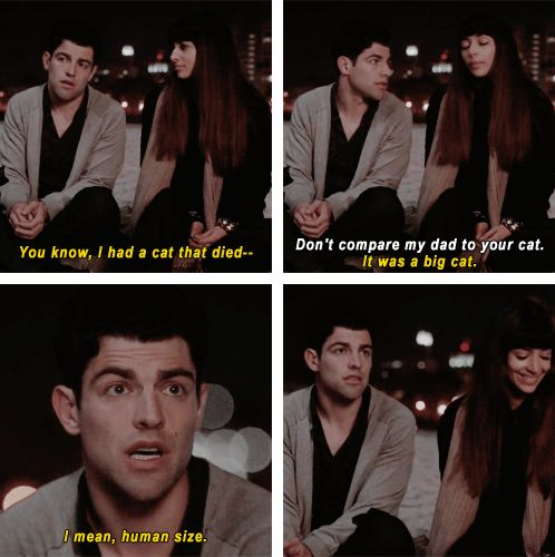 "When Schmidt helped lighten the mood. | 28 ""New Girl"" Quotes Guaranteed To Make You Laugh Every Time"