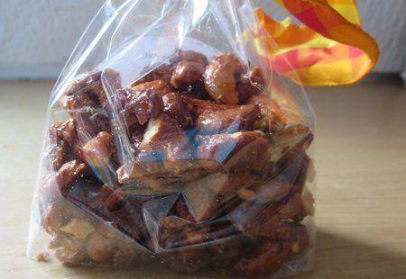 Gebrannte Honig-Senf-Nüsse   erdbeerlounge.de