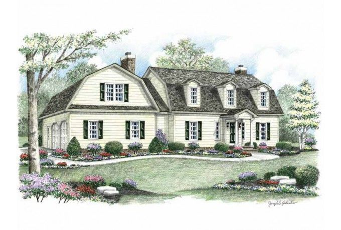 25 best ideas about dutch colonial homes on pinterest for Dutch colonial house for sale