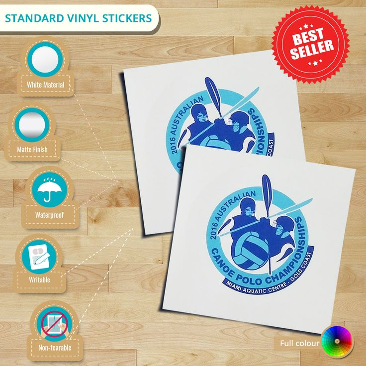 Why must you have our standard #vinylstickers? Well, go directly check this #infographic. You may also visit us to check more of our products!