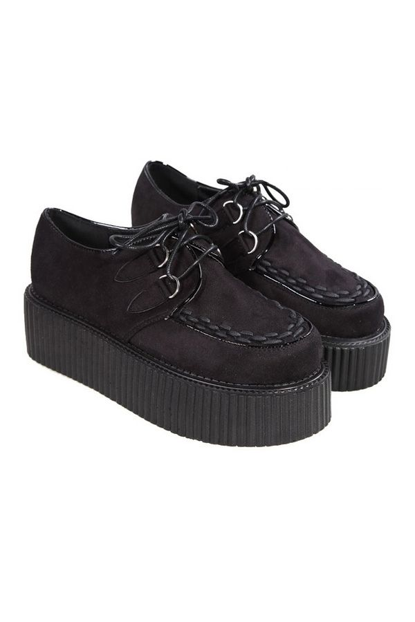 Fashion Suede Creepers - OASAP.com