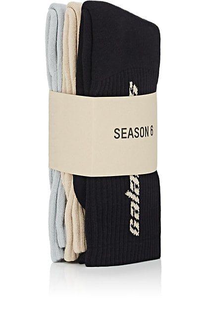 a397cb525 We Adore: The Season 6 Calabasas Mid-Calf Crew Socks 3-Pack from Yeezy at  Barneys New York