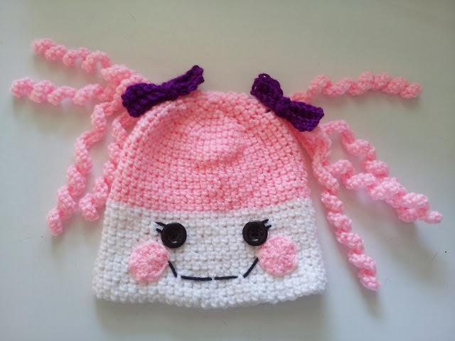 Free Crochet Pattern For Lalaloopsy Hat : Dustys Country Crochet: Lalaloopsy Pattern Crochet to ...