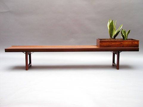 Best Mid Century Bench And Design Images On Pinterest Danish