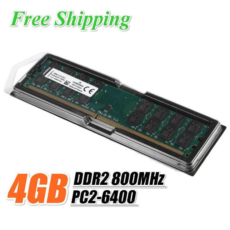 Kllisre ram ddr2 4 ГБ 800 МГц PC2-6400U Памяти 240 контакты только Для AMD Для Настольных Пк