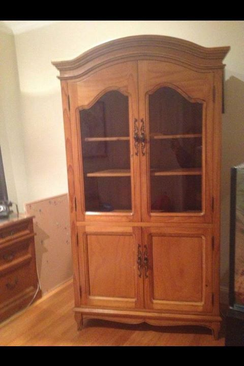 Antique French armoire for sale! $650 :) #rangloo, #bar, #accessories