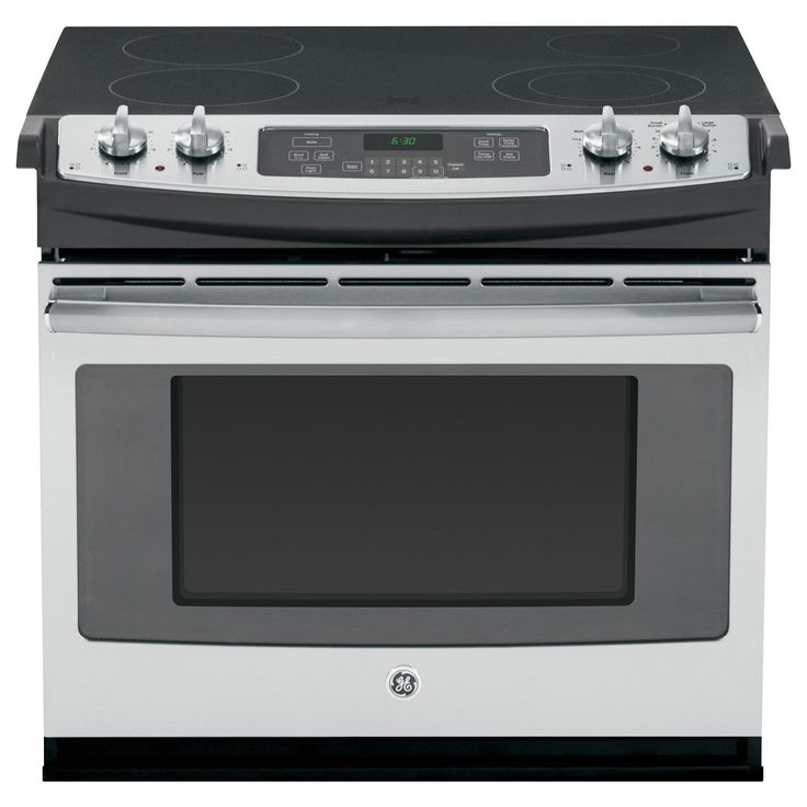 GE Stainless Steel (Silver) 30-in Drop-In Electric Range (Stainless Steel) (Electronics)