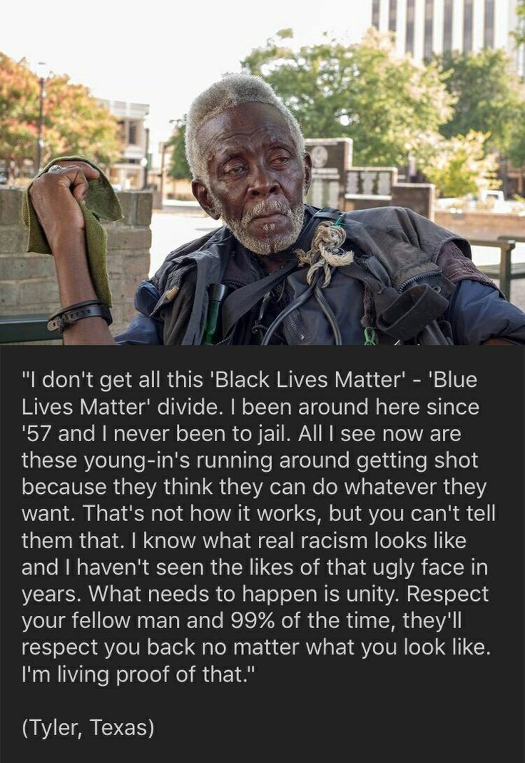 Damn right. I'm not sorry when I say this: Black Lives Matter and all movements following, are crocks of shit.