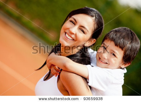 Google Image Result for http://image.shutterstock.com/display_pic_with_logo/1294/1294,1327611363,2/stock-photo-lovely-portrait-of-a-mother-and-son-at-the-tennis-court-93659938.jpg
