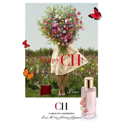 Coffret Perfume CH L'Eau Feminino Eau Fraiche 50ml + Loção Corporal 100ml :: AromasNet Perfumes Importados