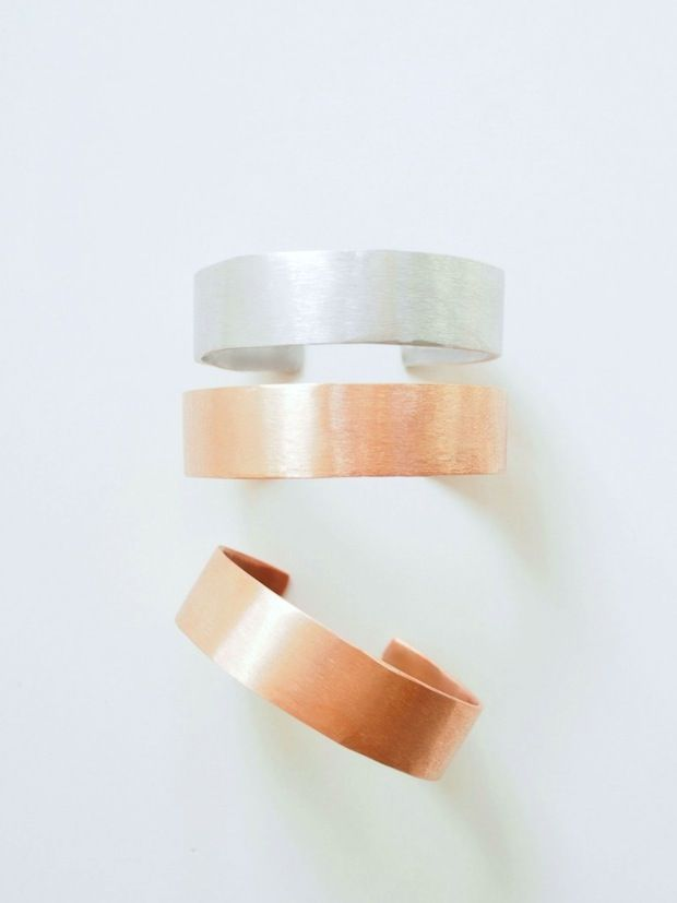 How-To: Copper Tubing Bangle Bracelets #DIY #jewelry #bracelets