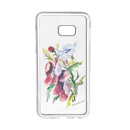 Etui Samsung. Akwarela Kwiaty polne. Prezent dla mamy, dziewczyny, cioci... Case Samsung. Watercolor wild flowers