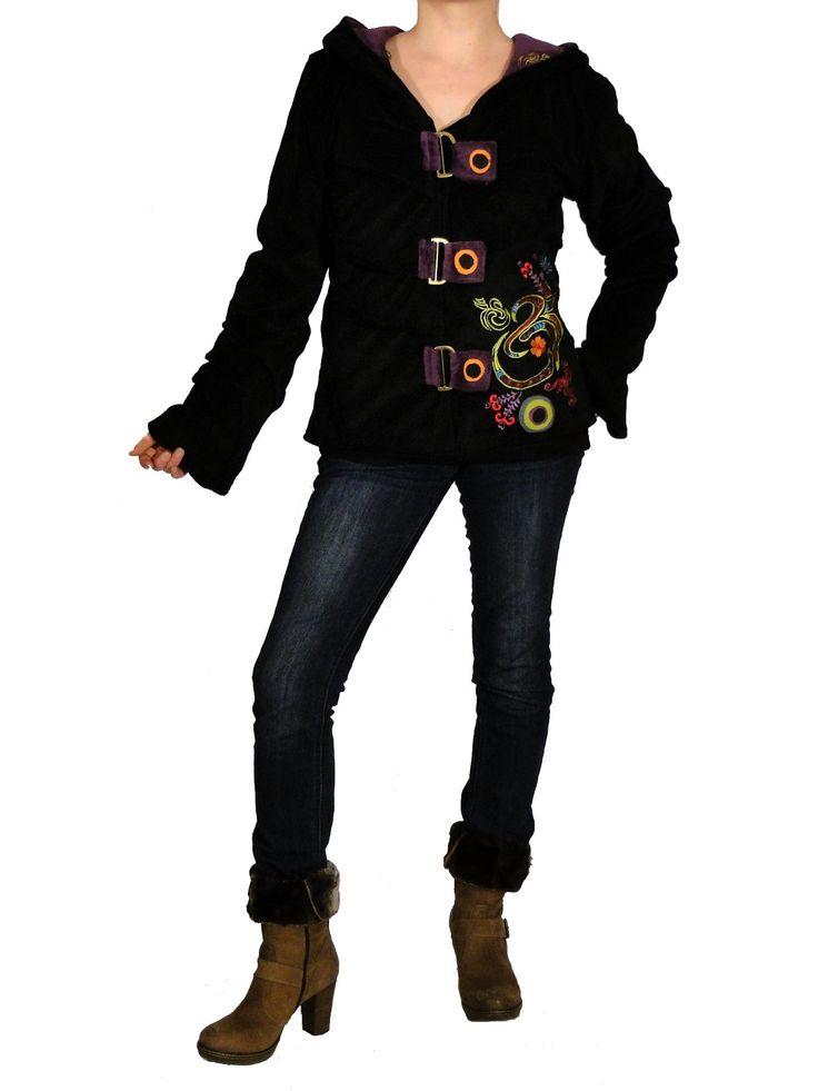 Veste Iliad à capuche de la marque Swamee sur http://www.echoppe-du-monde.com/veste-ethnique-iliad-a-capuche-lutin-swamee-noire-c2x13824602 découvrez notre collection de vêtements ethniques chics sur notre e-boutique ...