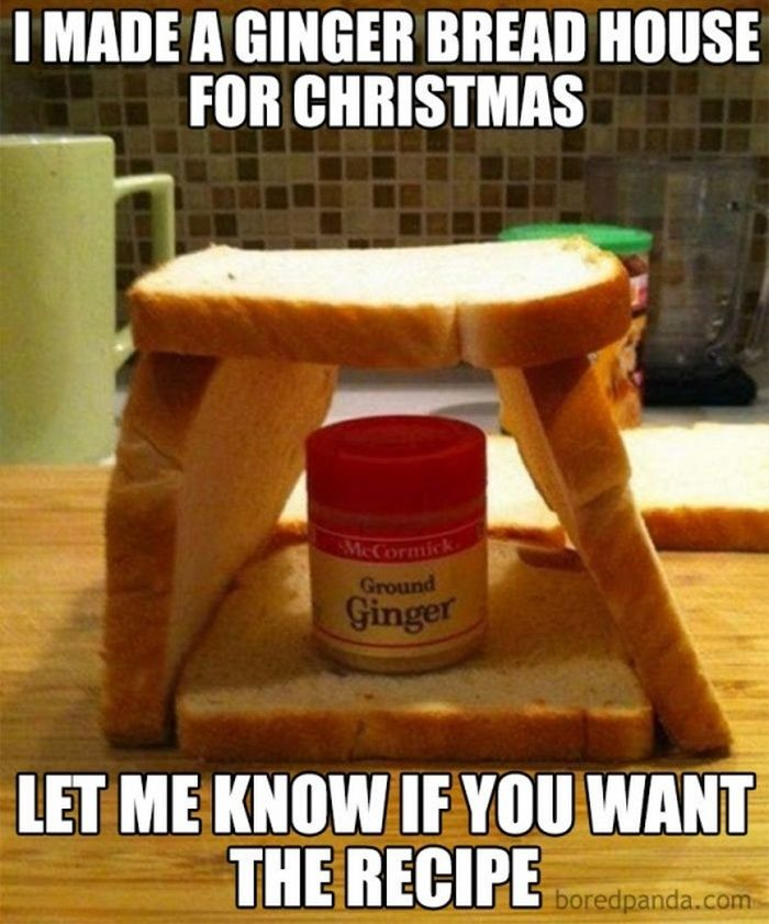 30 Hilarious Christmas Memes That Will Make You Laugh Christmas Memes Funny Funny Christmas Puns Make A Gingerbread House