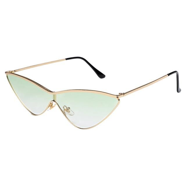 3a613c1e7df4 Winla Fashion Design Women Sunglasses Sexy Cat Eye Sun Glasses Classic  Small Metal Frame Eyewear Stylish Shades Uv400 Wl1208