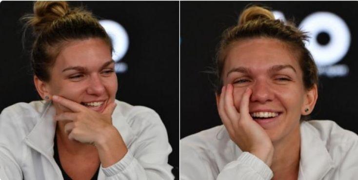 Simona Halep, la conferinţa de presă: Am plâns, dar acum zâmbesc