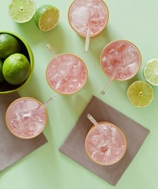 Friday Cocktail: Hibiscus Rum Cooler - Sweet-tart syrup is the key to ...