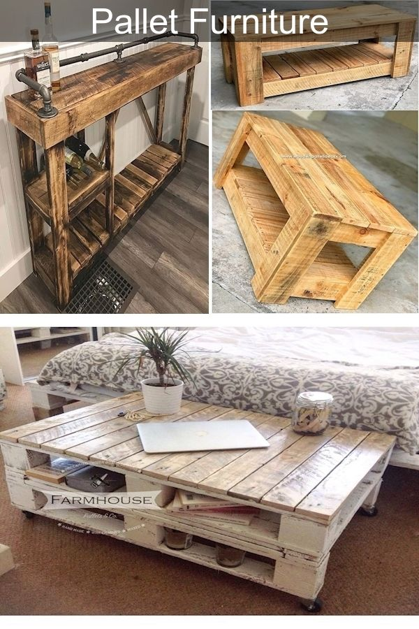 30 Inspiring Diy Pallet Wood Homemade Furniture Plans Pallet