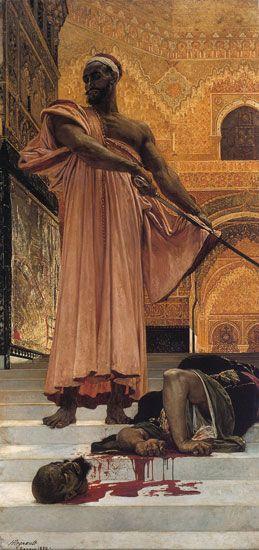 Summary Judgment under   the Moorish Kings of Granada    Henri Victor Régnault