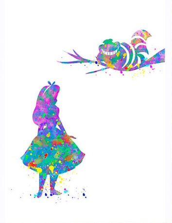 Alice & Cheshire Cat