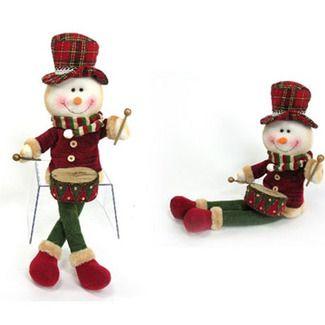 Muñeco nieve decoración navidad