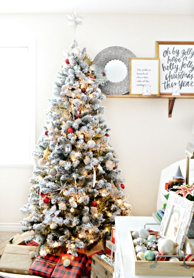 A Collected, Sentimental Christmas Tree | MyFabulessLife.com