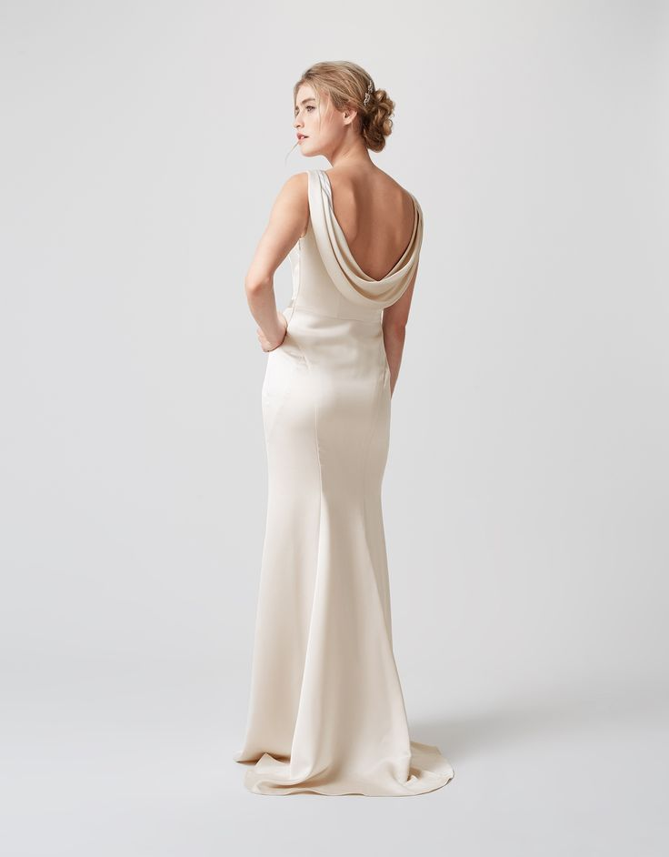 OLGA EMBELLISHED BRIDAL DRESS BACK VIEW http://www.weddingheart.co.uk/monsoon---wedding-dresses.html #MonsoonIsHere