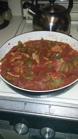 Italian Veal and Peppers