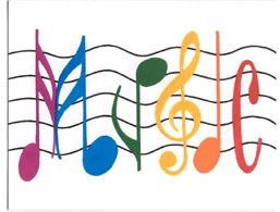 Colorful Music Notes Symbols | Clipart Panda - Free Clipart Images