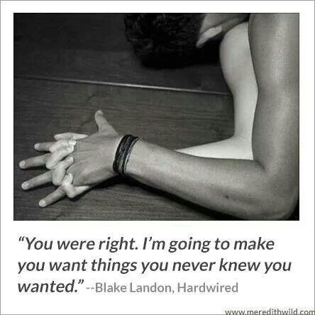 "Author Meredith Wild...""The Hacker Series""    Hardwired #1  Hardpressed #2"