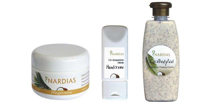 Nardias Kokosnuss Pflegeprodukte #nardias #pflege #kokosnuss