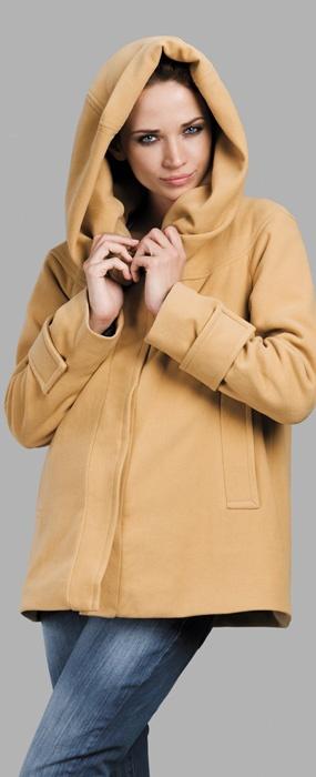 Jacheta Hoody in nuanta caramel este o jacheta perfecta atat pentru o gravida, cat si pentru o mamica activa. Poate fi purtata in orice combinatie.Este o jacheta foarte chic cu gluga, potrivita pentru zilele racoroase, dintr-un material foarte soft, care sa mangaie burtica in continua crestere.