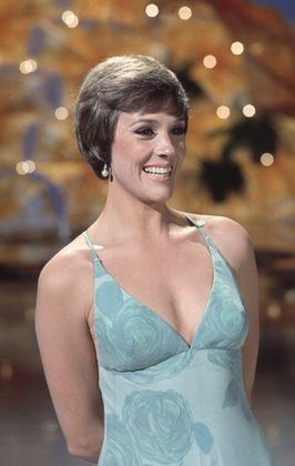 """""""The Julie Andrews Hour"""" Julie Andrews (1972-73)  I love her acrylic ochre geodesic dome - she calls home #bostonferns"""
