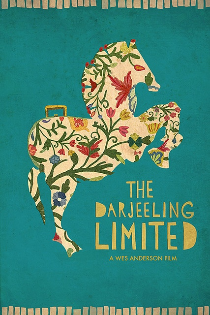 The Darjeeling Limited-one of my faves, and LOVE this design