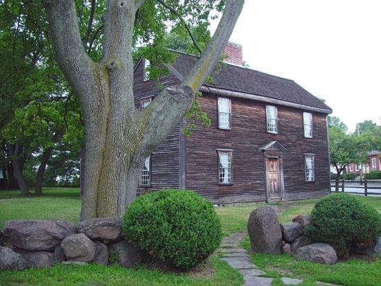 John Adam's birthplace Braintree/Quincy Massachusetts