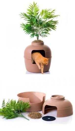 ARENERO GATOS litter box cat