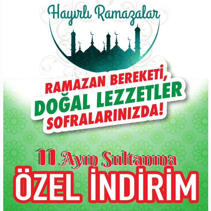 Ramazan Bereketi, Doğal Lezzetler Sofranızda ! 11 Ayın Sultanına Özel İndirim. #doğalsüt #çiğsüt #malatya #fahrikayahan #bostanbaşı