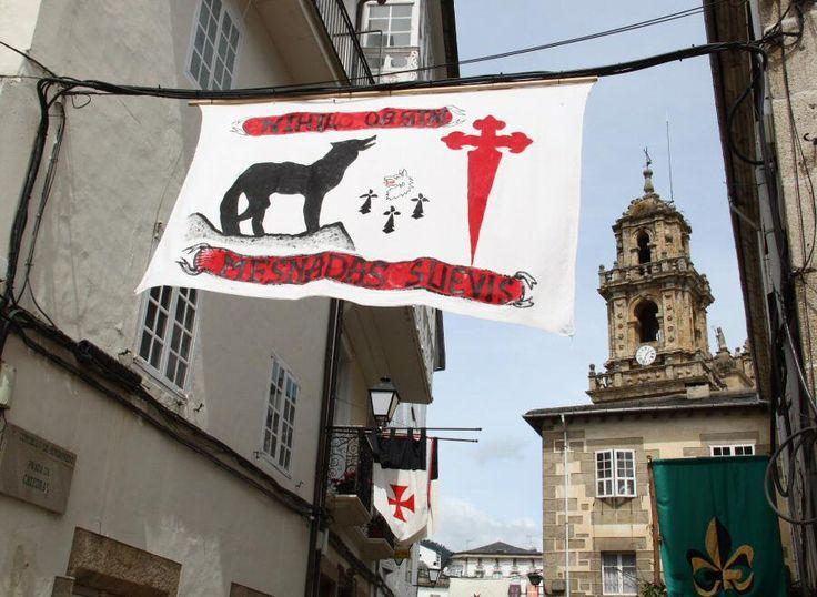 Mercadillo Medieval en Mondoñedo, Galicia