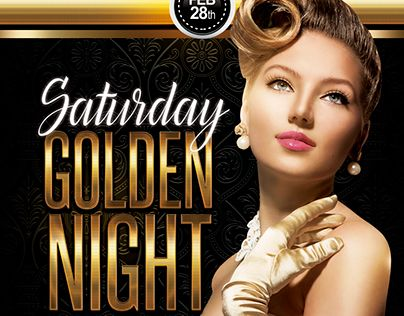 "Check out new work on my @Behance portfolio: ""Golden Night Flyer"" http://be.net/gallery/40789579/Golden-Night-Flyer"