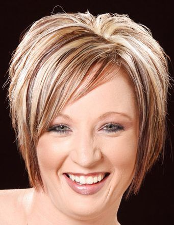 Blonde Highlights Hairstyles Formal Short Hairstyle 106