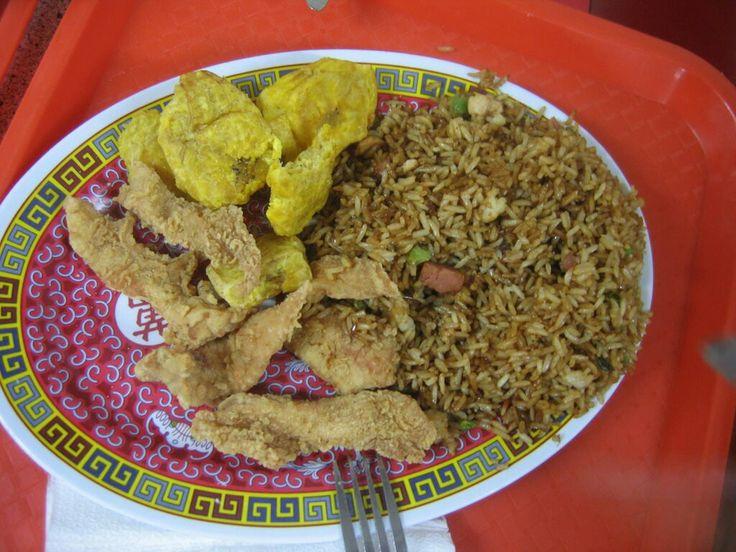 Comida china en RD Chofan y pica pollo